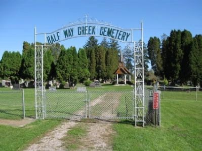 Halfway Creek Cemetery image. Click for full size.