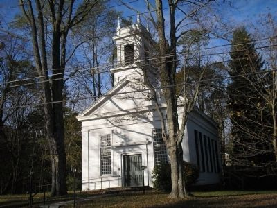 Ridgebury Congregational Church image. Click for full size.