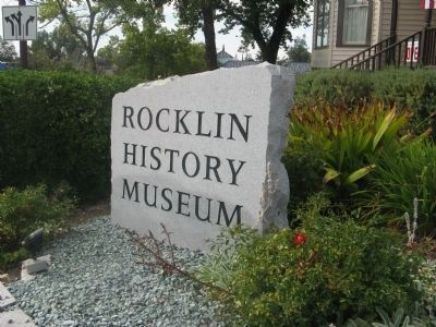 The Rocklin History Museum image. Click for full size.