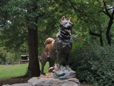 Balto Sculpture image. Click for full size.
