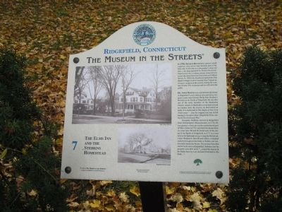 The Elms Inn and Stebbins Homestead Marker image. Click for full size.