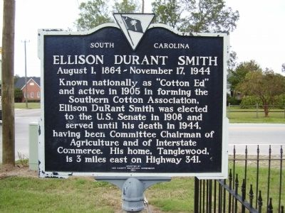 Ellison Durant Smith Marker image. Click for full size.