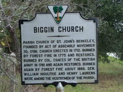 Biggin Church Marker image. Click for full size.