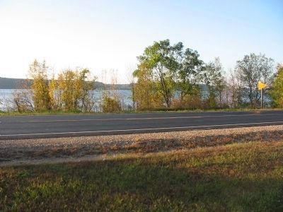 View of Mississippi River from Marker image. Click for full size.