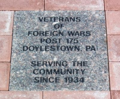 Community Service and Veterans Memorial VFW Post 175 Paver image. Click for full size.