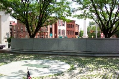 Bucks County Vietnam War Memorial Plaza image. Click for full size.