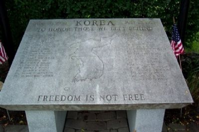 Bucks County Korean War Memorial image. Click for full size.