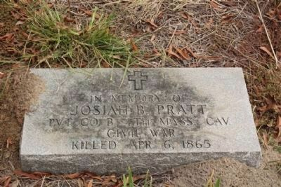Josiah B. Pratt, as mentioned on the Manning Marker image. Click for full size.