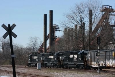 The Railroad and Sloss Furnaces image. Click for full size.