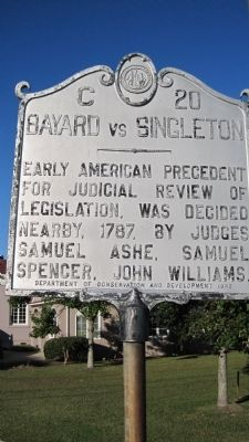 Bayard vs Singleton Marker image. Click for full size.
