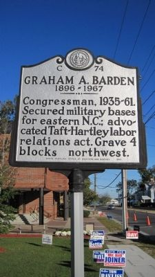 Graham A. Barden Marker image. Click for full size.