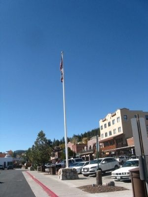 The Flagpole image. Click for full size.