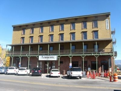 The Truckee Hotel image. Click for full size.