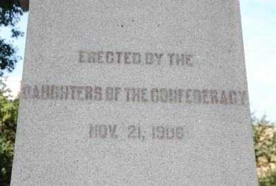 Cleveland County Civil War Monument Marker image. Click for full size.