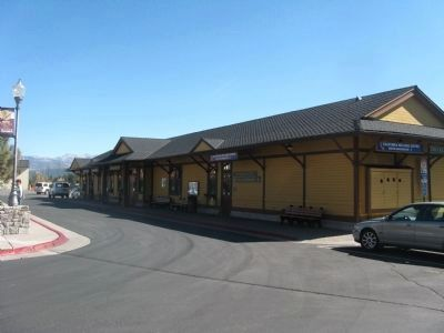 Truckee Railroad Depot image. Click for full size.