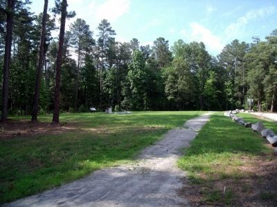 Fort Christanna walking trail. image. Click for full size.