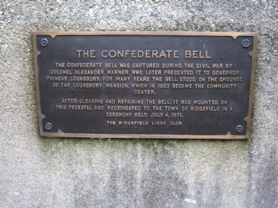The Confederate Bell Marker image. Click for full size.