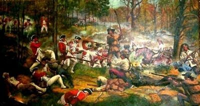 Battle of King's Mountain image. Click for full size.