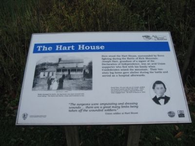 The Hart House Marker image. Click for full size.