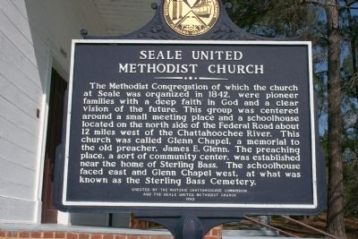 Seale United Methodist Church Marker image. Click for full size.