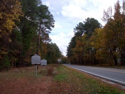 John Tyler Memorial Highway (facing east). image. Click for full size.