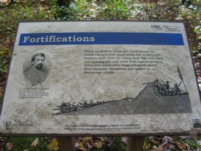 Fortifications Marker image. Click for full size.