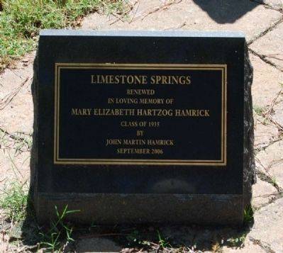Limestone Springs Restoration image. Click for full size.
