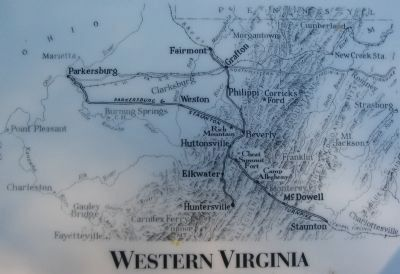 Map of Western Virginia image. Click for full size.