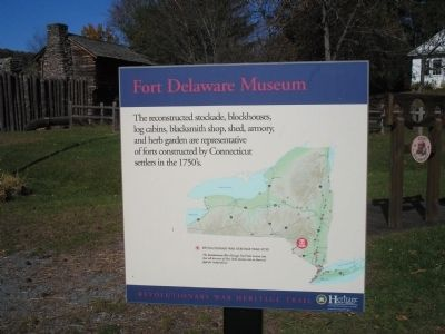 Fort Delaware Museum Marker image. Click for full size.