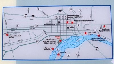 Richmond Civil War sites. image. Click for full size.