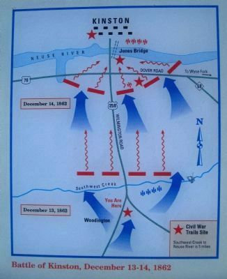 Battle of Kinston December 13 -14, 1862 image, Touch for more information