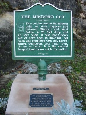 The Mindoro Cut Marker image. Click for full size.