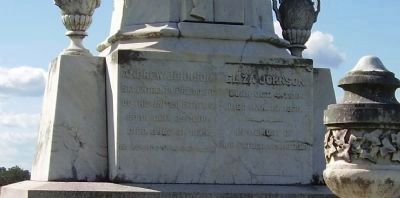 Andrew Johnson Grave Monument image. Click for full size.