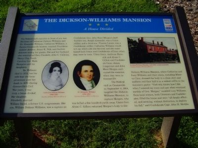 The Dickson - Williams Mansion Marker image. Click for full size.