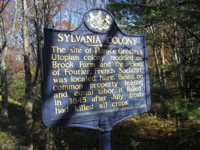 Sylvania Colony Marker image. Click for full size.