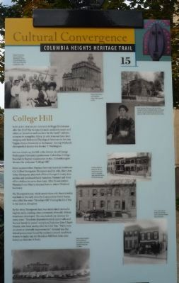 College Hill Marker image. Click for full size.