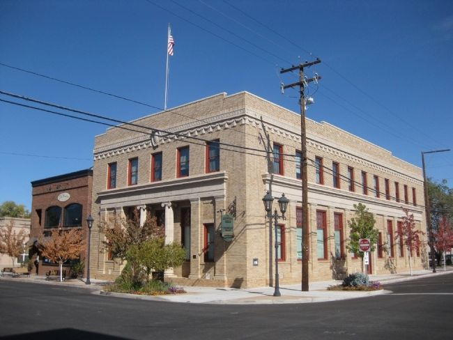 Second Farmer's Bank of Carson Valley Building image. Click for full size.