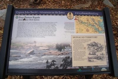 Pony Pasture Rapids Marker image. Click for full size.