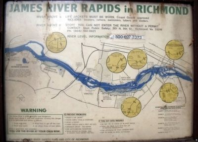 James River Rapids. image. Click for full size.