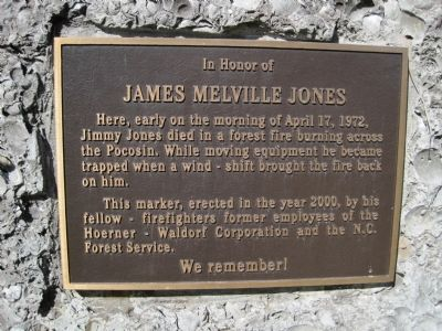 James Melville Jones Marker image. Click for full size.