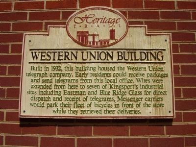 Western Union Building Marker image. Click for full size.