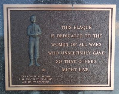 Phoenixville War Memorial Womens' Marker image. Click for full size.