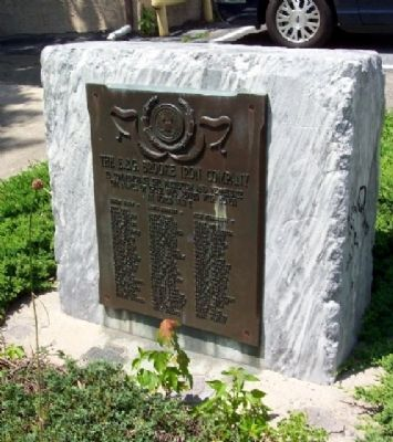 The E. & G. Brooke Iron Company World War II Memorial image. Click for full size.