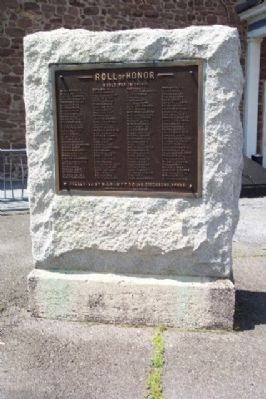 Birdsboro World War I Memorial image. Click for full size.