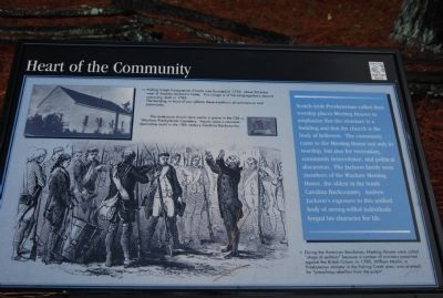 Heart of the Community Marker image. Click for full size.