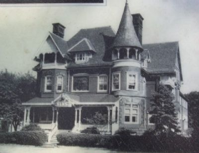 The Elks Home Photo on Marker image. Click for full size.