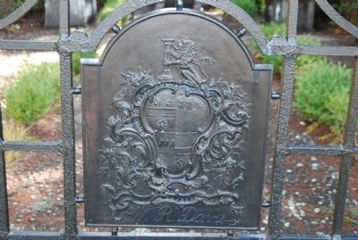 Davie Private Burial Plot Gate image. Click for full size.