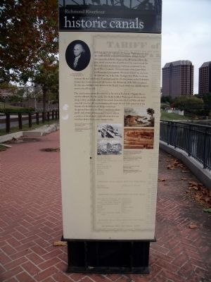 Historic Canals Marker image. Click for full size.