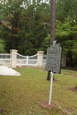 Pompion Hill Chapel Marker image. Click for full size.