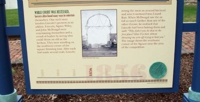 Bottom Section - - Monticello Journeys Marker image. Click for full size.